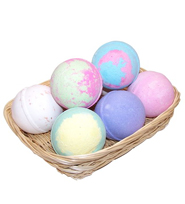 Floral Jumbo Bath Bombs - 5 for the price of 3
