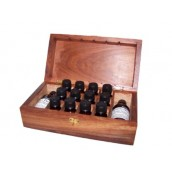Wooden Aromatherapy Box - 225 x 120 x 78mm
