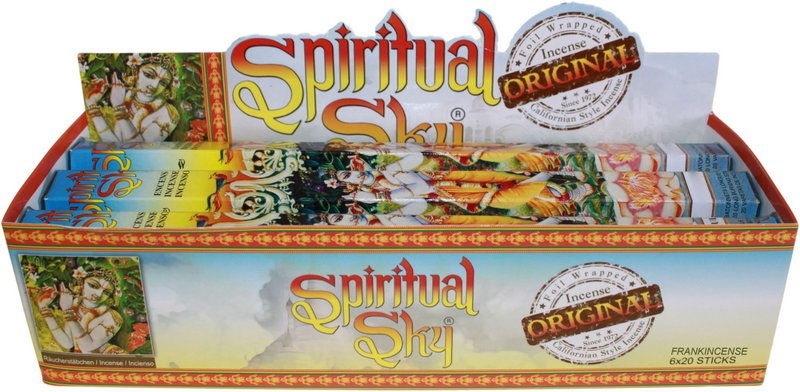 6 Packs of Californian Spiritual Sky Incense Sticks