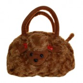 Chocolate Poodle Bag