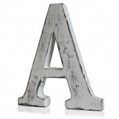 Shabby Chic Letter - A