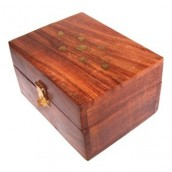 Wooden Aromatherapy Box - 140 x 120mm
