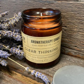 Aromatherapy Soy Wax Candle - Clear Thinking