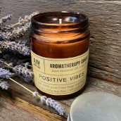 Aromatherapy Soy Wax Candle - Positive Vibes