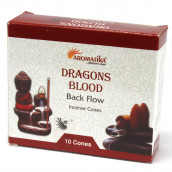 30 Aromatika Backflow Incense Cones - Dragons Blood