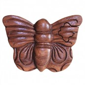 Bali Puzzle Box - Butterfly