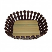 Bamboo Basket - Deep Medium Square