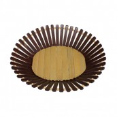 Bamboo Basket - Medium Oval