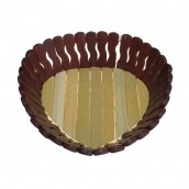 Bamboo Basket - Small Heart