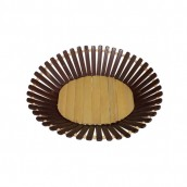 Bamboo Basket - Small Oval