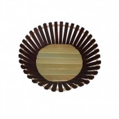Bamboo Basket - Small Round