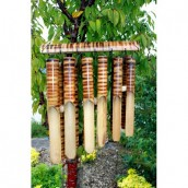 Bamboo Wind Chimes - 12 Tubes - Large
