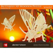 Butterfly - 3D Wooden Puzzle