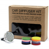 Aromatherapy Car Diffuser Kit - Flower of Life