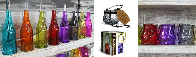 Recycled Bottle Lanterns