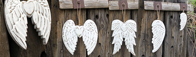 Hand Crafted Angel Wings