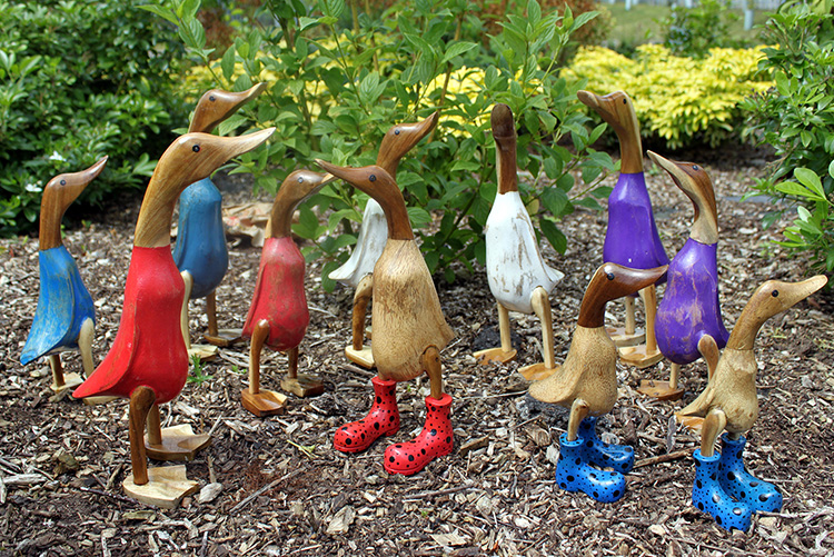 Bamboo Root Ducks