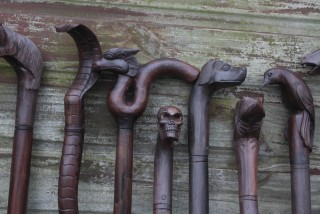 Bali Wooden Walking Sticks