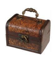 Retro Antique Colonial Boxes
