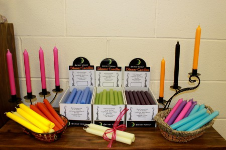 Packs of 6 Dinner Candles