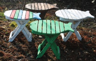 Folding Fish Furniture