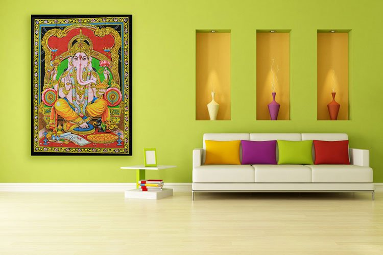 Indian Cotton Wall Art