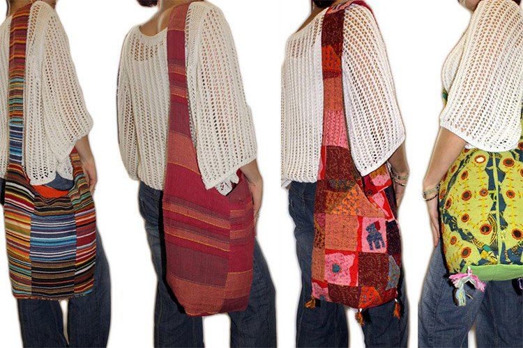 Multi Patch Indian Ethnic Bags