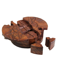 Sheesham Wood Puzzle Boxes