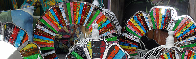 Hand Crafted Mosaic Mirrors