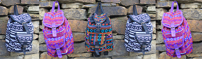 Small Nepali Backpacks