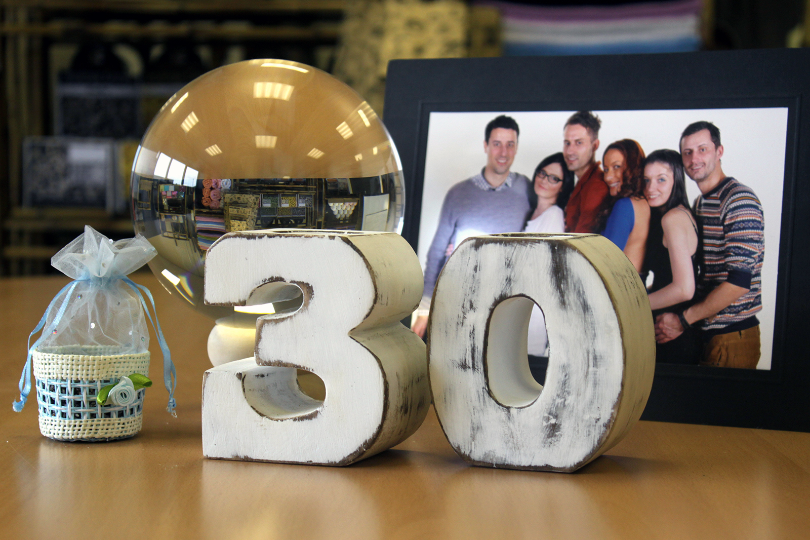 Wooden Birthday Number Holders