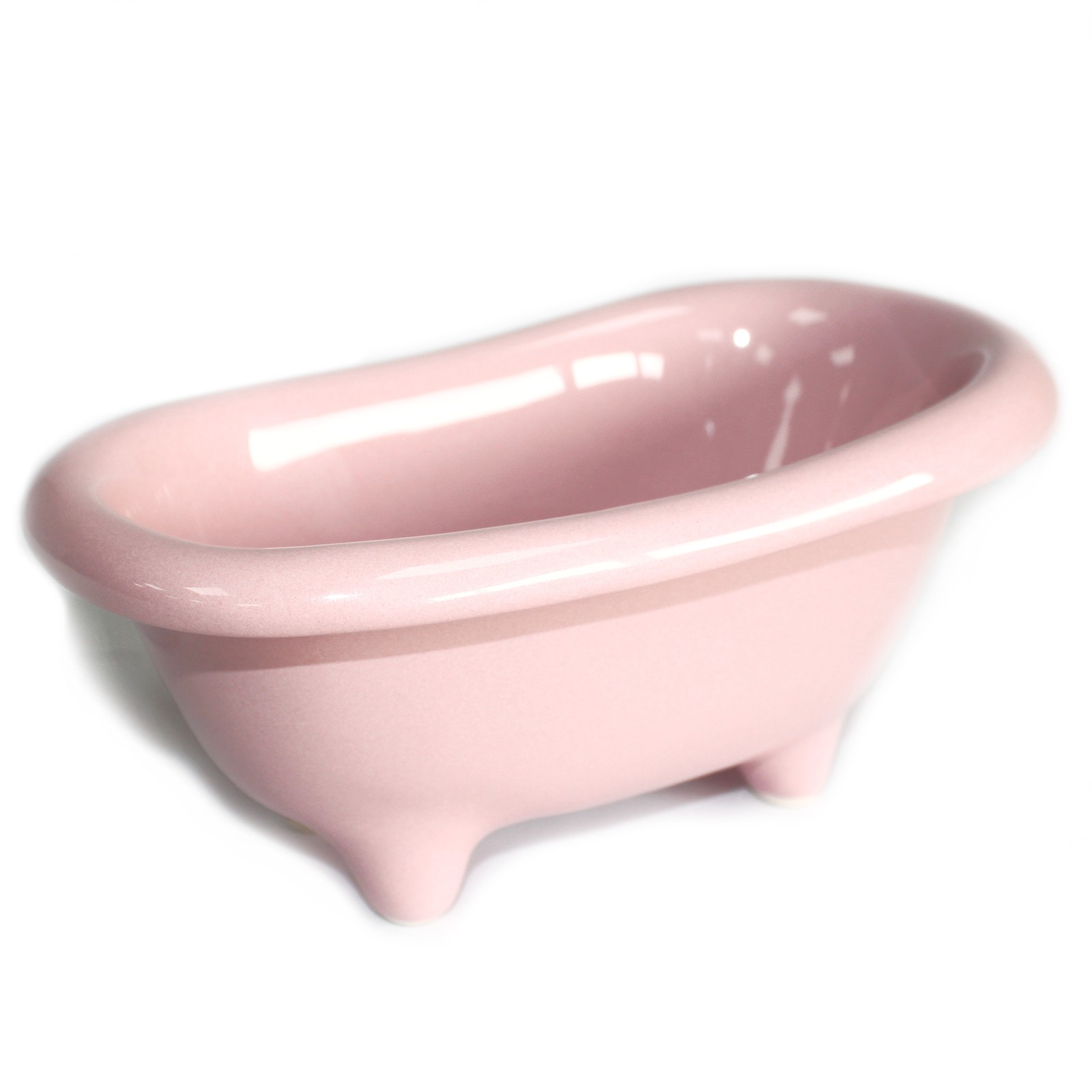 Ceramic Mini Bath - Rose