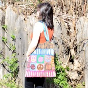 Classic Peace Skirt Bag
