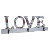 Wooden Coat Hanger - Love Decor