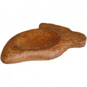 Coco Wood Foot Soap Dish