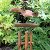 Coconut Blackbird Wind Chime