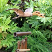 Coconut Duck Wind Chime