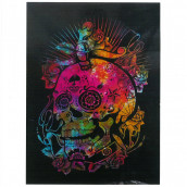 Cotton Wall Hanging - Day of the Dead Skull