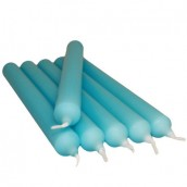 5 Dinner Candles - Turquoise