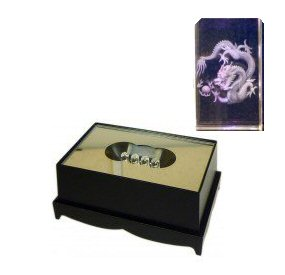 Dragon Crystal Laser Block & Coloured LED Display Stand