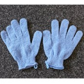 Exfoliating Gloves - Blue