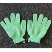 Exfoliating Gloves - Green