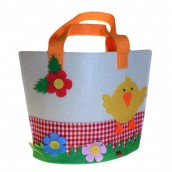 Felt Gift Bag - Large Chick