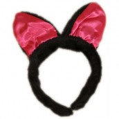 Four Party Headbands - Fluffy & Horny