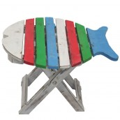 Folding Fish Chair - Multi Coloured