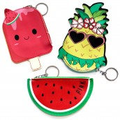 3 x Fun Money Pouches - Fruity Fun
