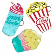 3 x Fun Money Pouches - Food at the Movies