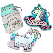 3 x Fun Money Pouches - Unicorns