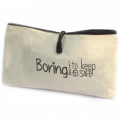 Get Organised Pouch - Boring Stuff to Keep Safe