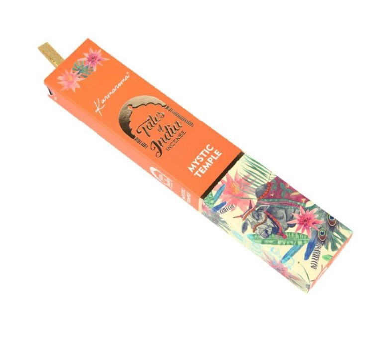 5 x Packs Tales of India Incense - Mystic Temple